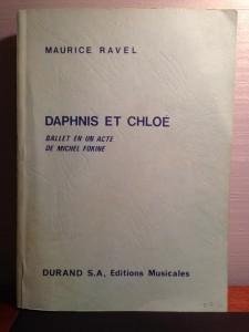 daphnis score