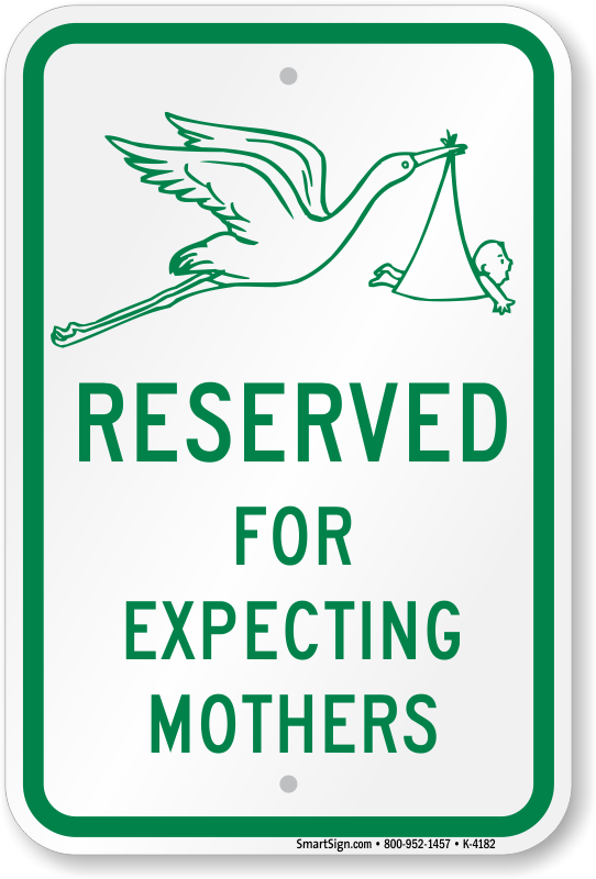 expecting-mothers-parking-sign-k-4182