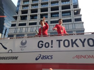 萩野選手と松田選手