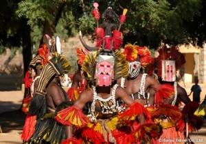 ドゴン族の仮面
