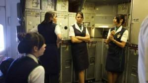 アリタリア航空キャビン