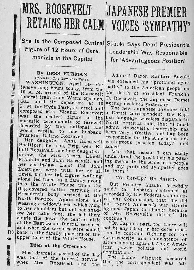 NY TIMES 19450414