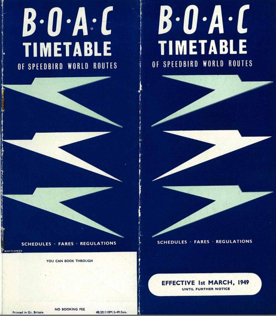 boac timetable