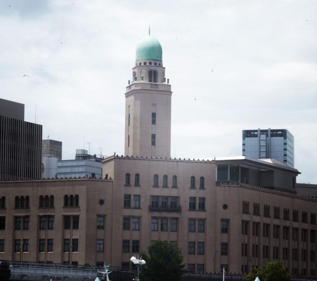 横浜税関の建造物